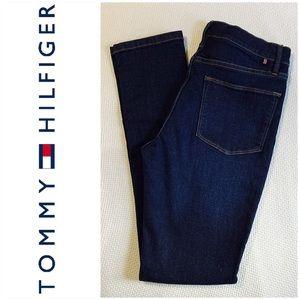 Tommy Hilfiger Dark Wash Skinny High Rise Jeans 4